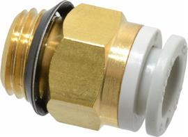 "KQ2 UNI 1/4 MALE THREADED-TO-TUBE ADAPTER 8 MM 1/4"" product photo"