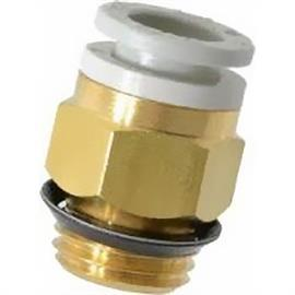 KQ2 STRAIGHT THREADED-TO-TUBE ADAPTER UNI 1/2 MALE product photo