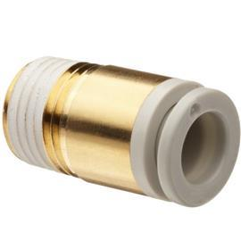 R 1/4 MALE STRAIGHT THREADED-TO-TUBE ADAPTER 8 MM product photo