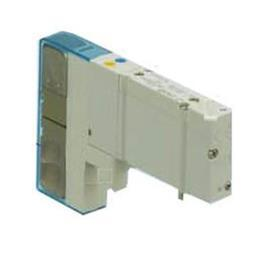 SY5000 5 PORT SOLENOID VALVE M PLU W/O CONNECTOR 24VDC product photo