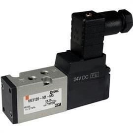 SOLENOID VALVE 5 PORT DIRECT OPERATED product photo