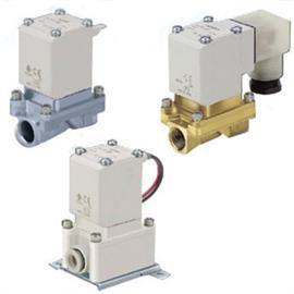 PILOT OPERATED 2 SOLENOID VALVE FOR AIR SINGLE UNIT product photo