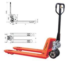 AC SERIES HAND PALLET TRUCK 2500KG product photo