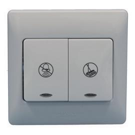 RADIANCE DND/MUR INTERLOCK SWITCH TITANIUM product photo