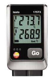 TESTO 175 T3 TEMPERATURE DATA LOGGER product photo