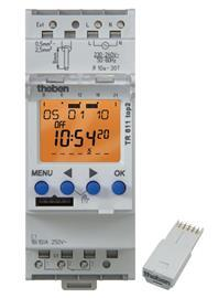 DIGITAL TIME SWITCH 1 CHANNEL 230VAC product photo