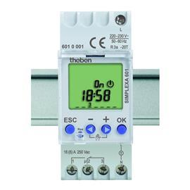 BASIC WEEKLY DIGITAL TIMER 1CH LCD DISPLAY 24H/12H AM/PM product photo
