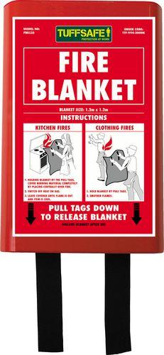FIRE BLANKET KITEMARKED BS EN1 869:1997 1.2MX1.2M product photo