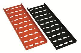 "EPOXY POWDER COATING CABLE TRAY G18 1.0MM(T) 3"" ORANGE product photo"