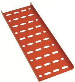 "EPOXY POWDER COATING CABLE TRAY G18 1.0MM(T) 5"" ORANGE product photo"