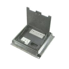 UNDERFLOOR TRUNKING SERVICE OUTLET BOX 3 COMPARTMENTS product photo