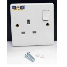 6 SERIES SWITCH SOCKET OUTLET 13A 1G product photo