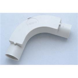 PVC INSPECTION BEND 20MM (3/4'') WHITE product photo
